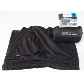 Cocoon Travel Blanket CoolMax czarny